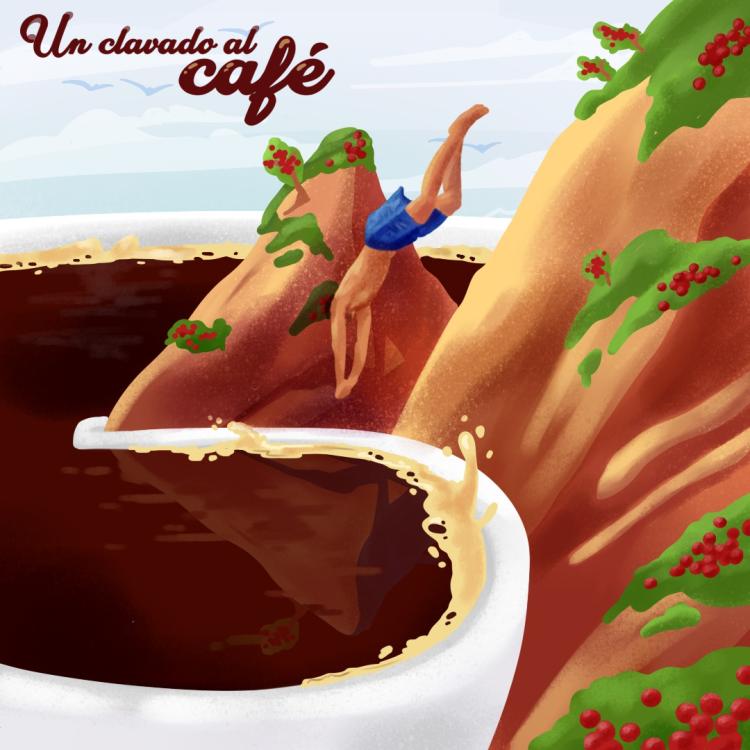 Un clavado al café-Kayroma