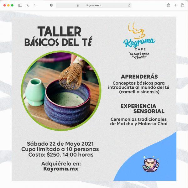 TALLER BASICOS DEL TÉ